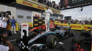 Hamilton champion en France