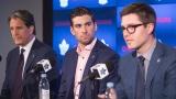 Brendan Shanahan, John Tavares et Kyle Dubas