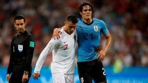 Un choc France-Uruguay sans Edinson Cavani?