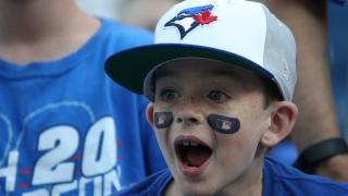 Un fan des Blue Jays