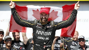 James Hinchcliffe l'emporte en Iowa