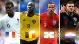 Coupe du monde 2018 - demi-finales