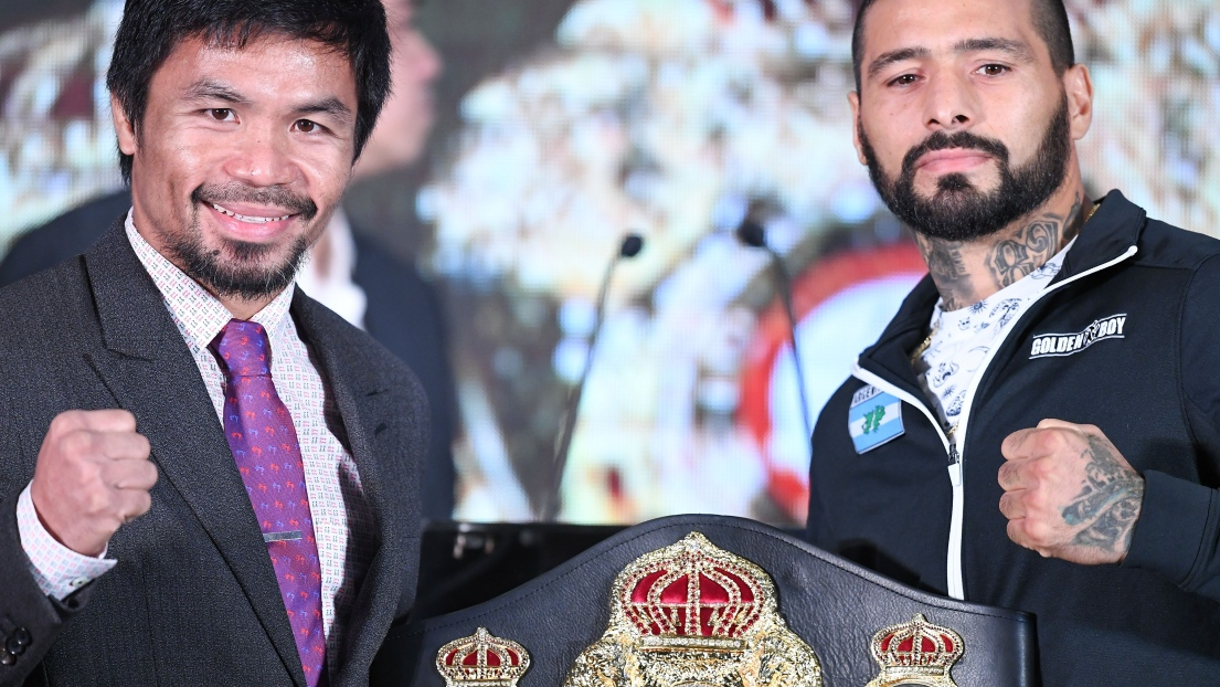 Manny Pacquiao et Lucas Matthysse