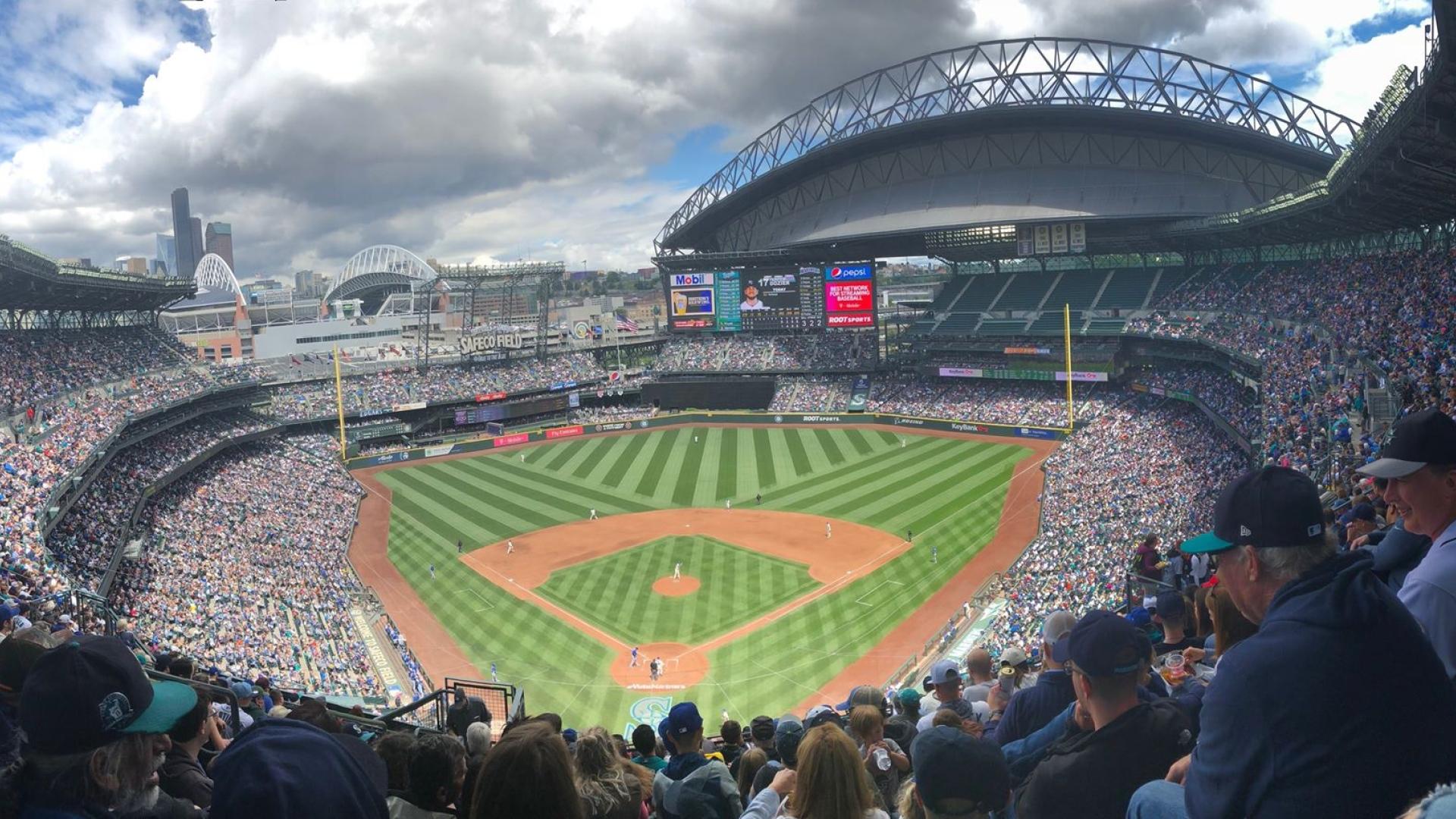Photo panoramique du stade