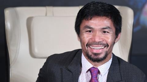 Pacquiao candidat à la présidentielle de 2022