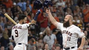 Tigers 1 - Astros 9