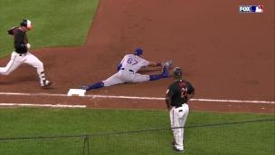 Qui a dit que les joueurs de baseball n'étaient pas flexibles?