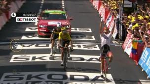 John Degenkolb devance tout juste le maillot jaune