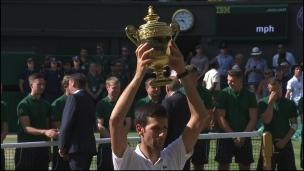 Djokovic remporte le tournoi de Wimbledon