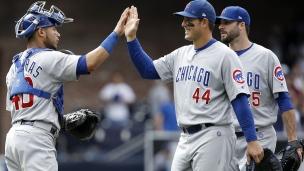 Cubs 7 - Padres 4