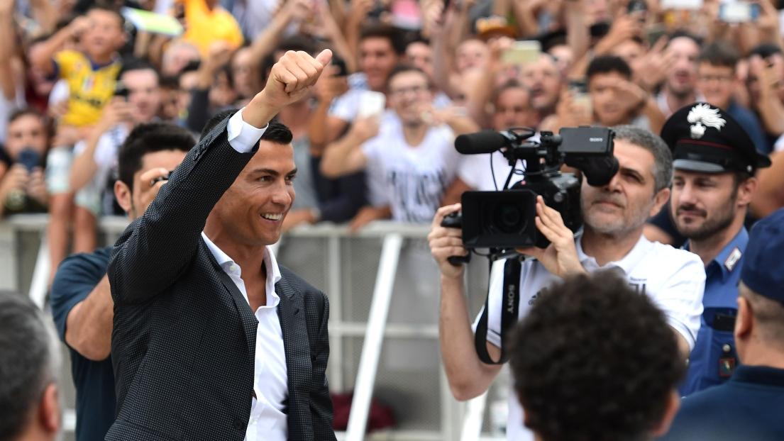 Les premiers mots de Cristiano Ronaldo — Juventus Turin