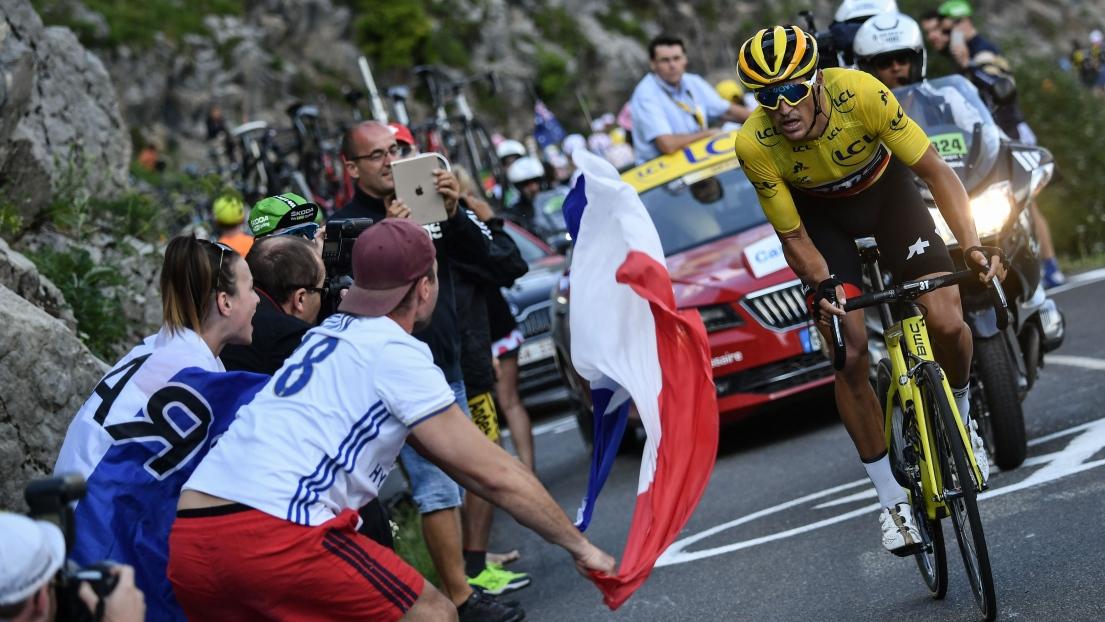 Geraint Thomas triomphe à l Alpe-d Huez