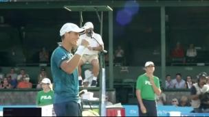 Vasek Pospisil en quart-de-finale à Newport