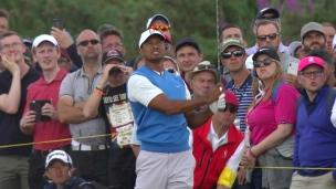 Tiger à cinq coups de la tête