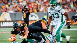 Roughriders 31 - Tiger-Cats 20