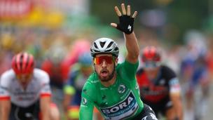 Peter Sagan signe une 3e victoire d'étape