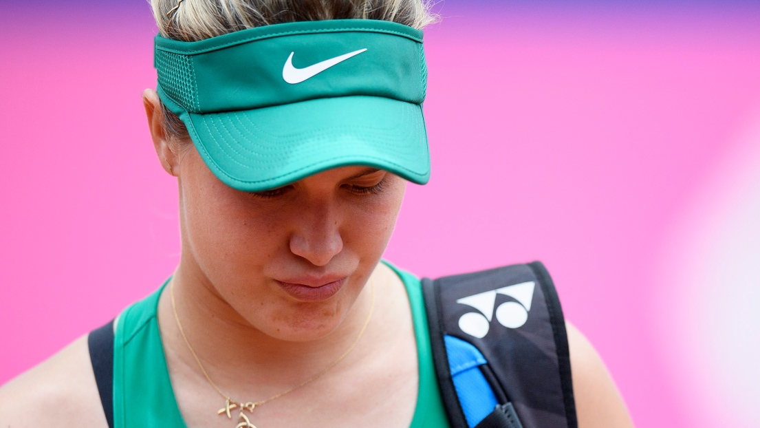 Bouchard poursuit sa route — WTA Gstaad