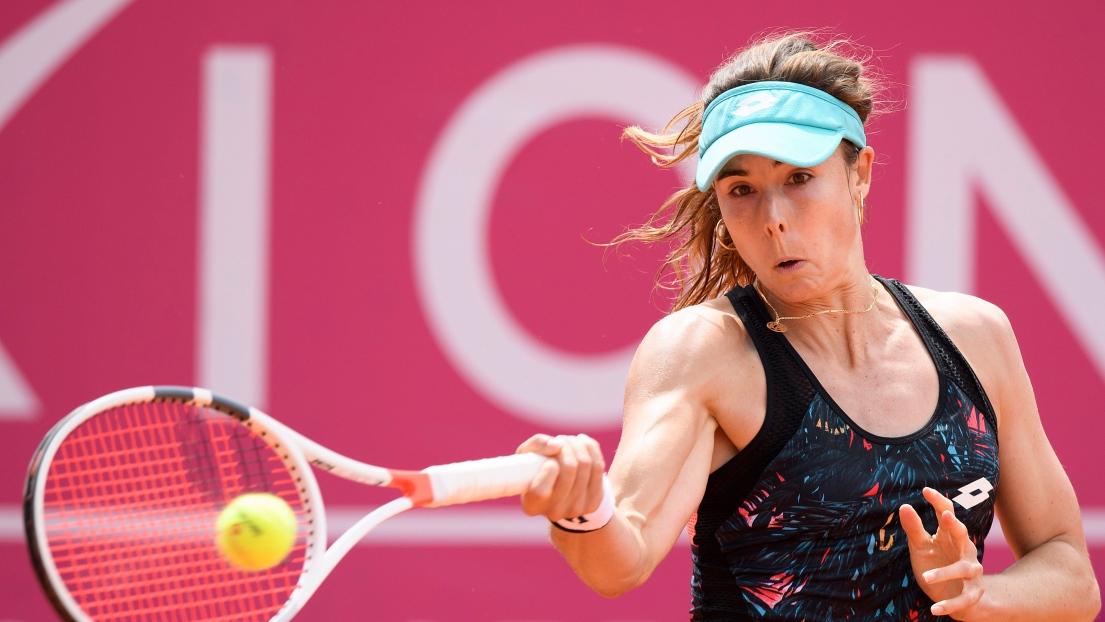 Alizé Cornet décroche le titre — WTA Gstaad