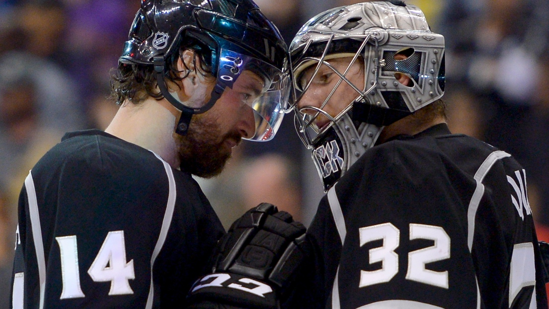 Justin Williams et Jonathan Quick