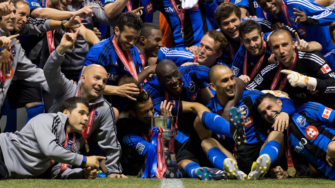 L'Impact champion canadien