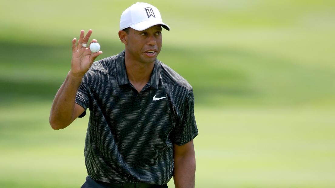 Tigers Woods grimpe au classement — Invitation Bridgestone