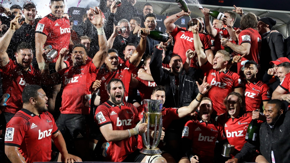 Les Crusaders sont champions du Super Rugby