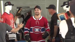 Xavier Ouellet entend vivre son rêve avec le Canadien