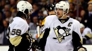 Sidney Crosby et Kristopher Letang