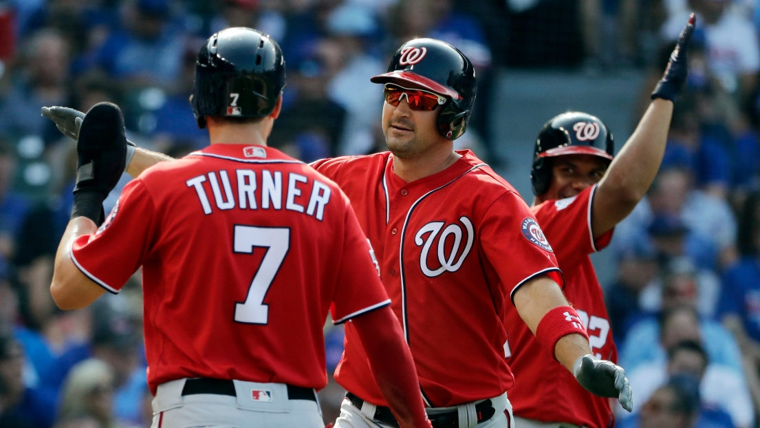 Trea Turner et Ryan Zimmerman
