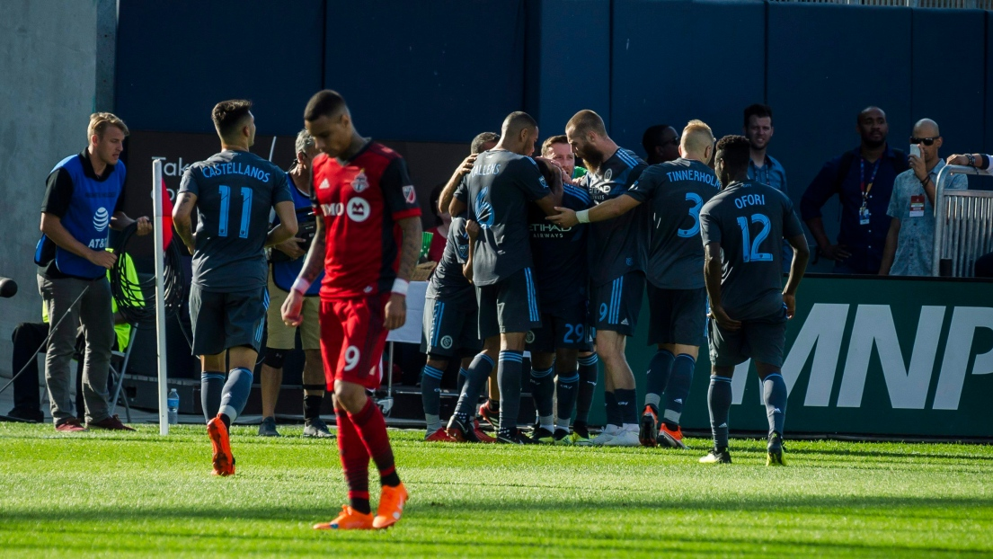 Le New York City FC célèbre