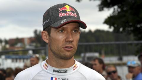 Sébastien Ogier à la poursuite d'un 7e titre
