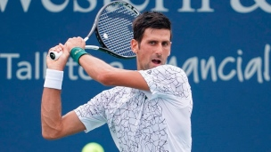 Novak Djokovic avance à Cincinnati