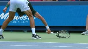 Raonic met Djokovic dans tous ses états!