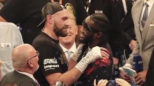 Fury met la table pour son combat face à Wilder