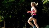 Une joggueuse