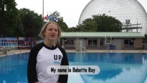 Babette Roy au Psicobloc du Parc Jean-Drapeau