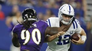 Ravens 20 - Colts 19