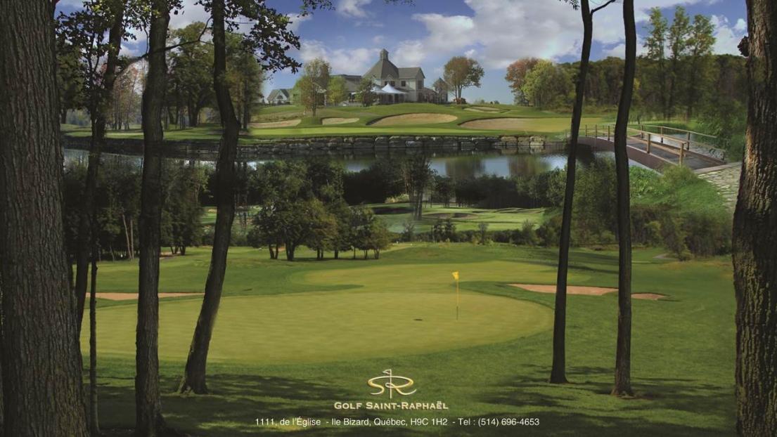 Le golf Saint-Rapahël