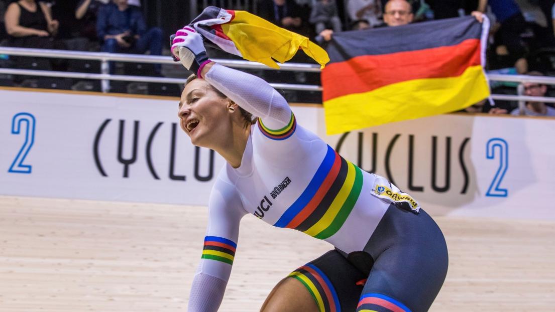 Cyclisme: la championne olympique allemande Kristina Vogel, accidentée, restera paraplégique