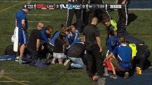 Carabins : défaite et blessure grave