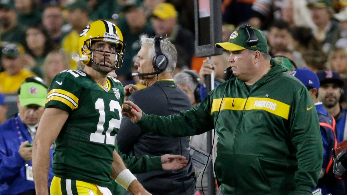 Aaron Rodgers et Mike McCarthy