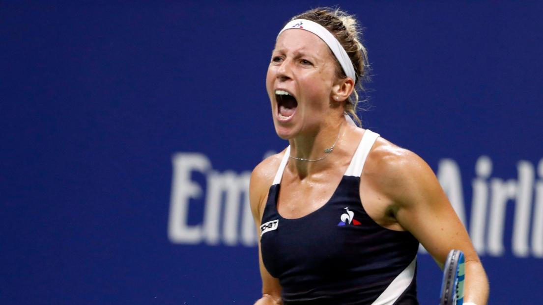 Tennis - WTA - Québec - Québec : Pauline Parmentier qualifiée pour les demi-finale