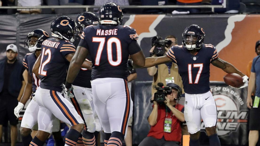 Anthony Miller et les Bears