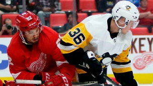 Penguins 2 - Red Wings 3 (Prol.)