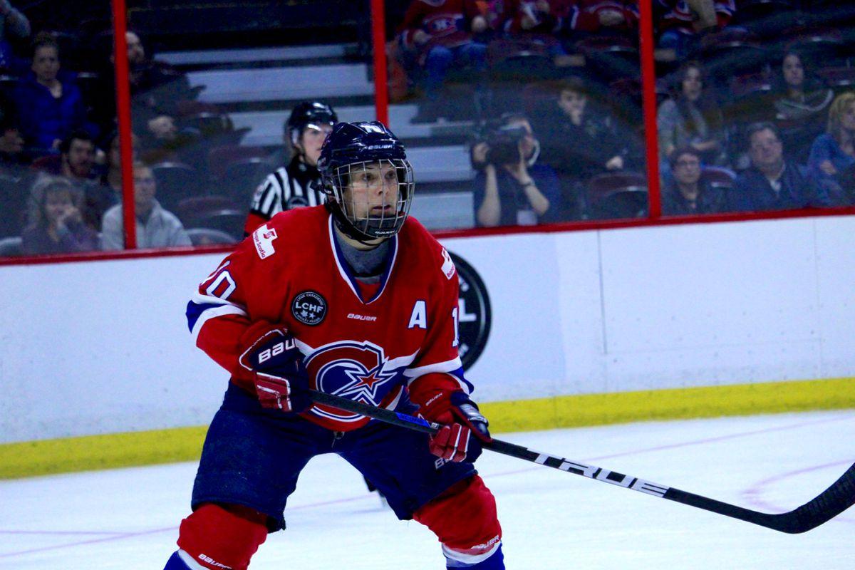 Noémie Marin accroche ses patins en trônant au premier rang pour les buts dans l'histoire de la LCHF avec 133.