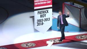C'était officiellement les retrouvailles de Patrick Roy à Québec