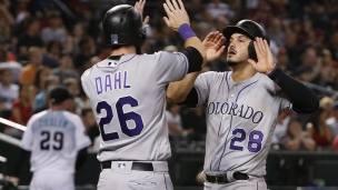 Rockies 5 - Diamondbacks 1
