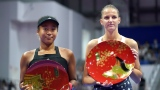 Naomi Osaka et Karolina Pliskova