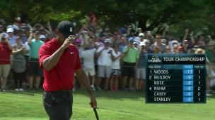 Woods débute avec un oiselet
