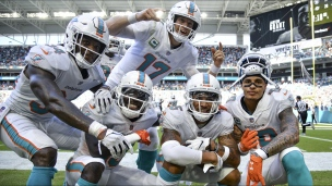 Raiders 20 - Dolphins 28